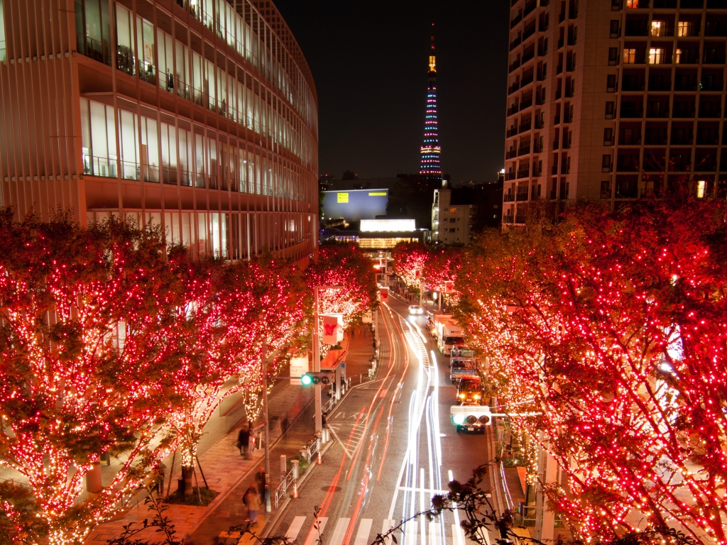 A single picture cannot do Roppongi Hills justice. But this is pretty just the same.