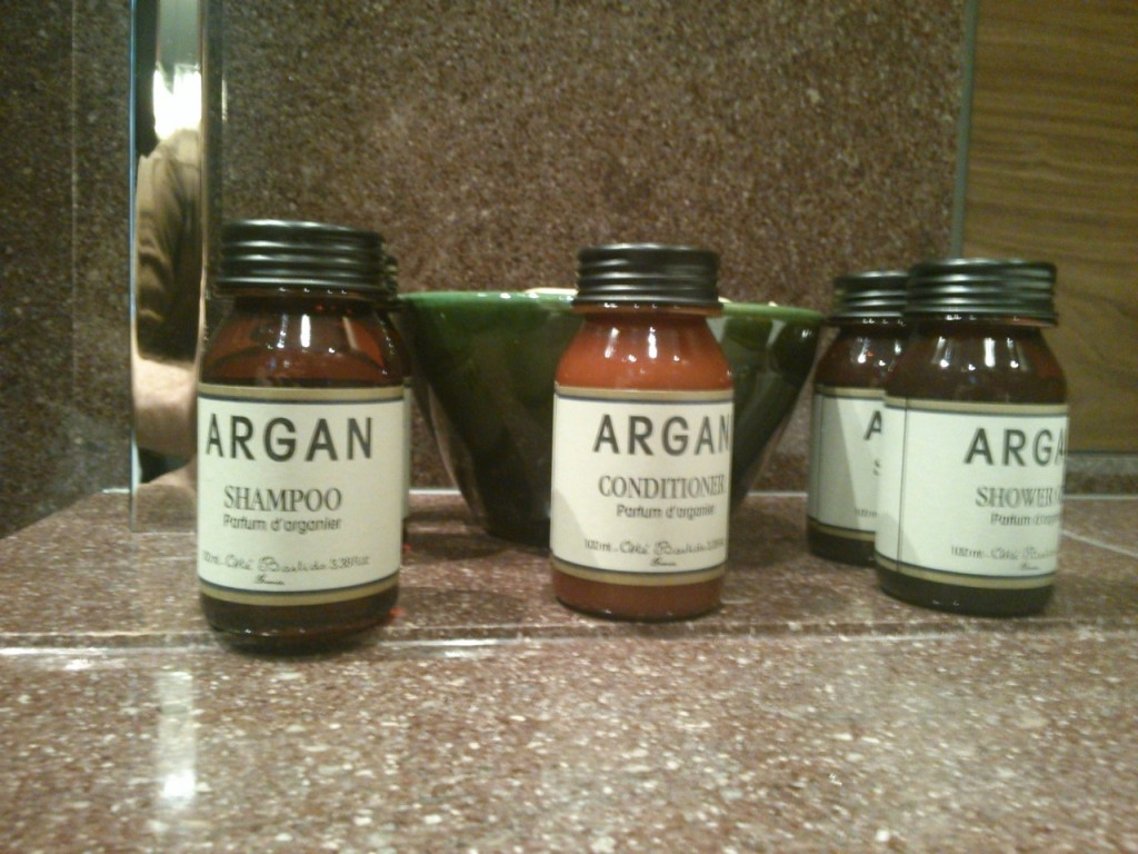 I thought they smelled too fruity and sweet, but my wife loved them.  Still prefer Aesop.