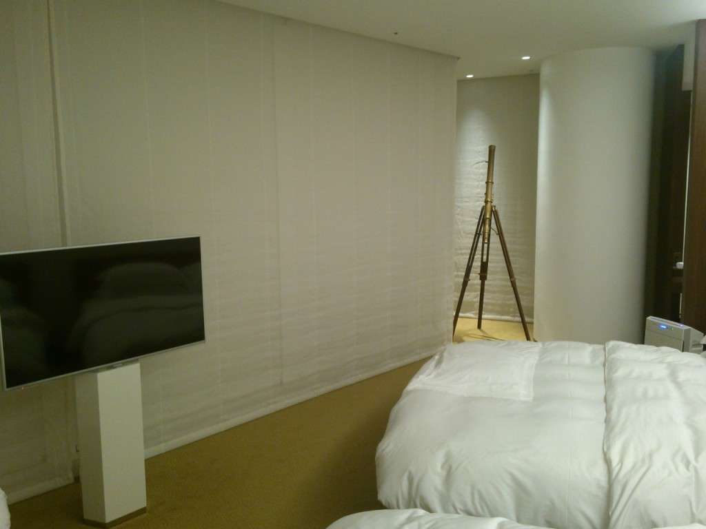 I found this bedroom to be, in all ways, much more soothing than the regular Andaz room.