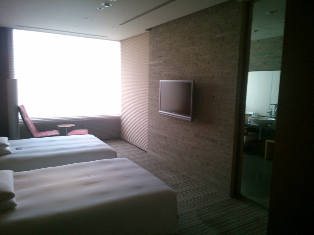 The bedroom of the Hyatt Regency Tokyo Presidential Suite